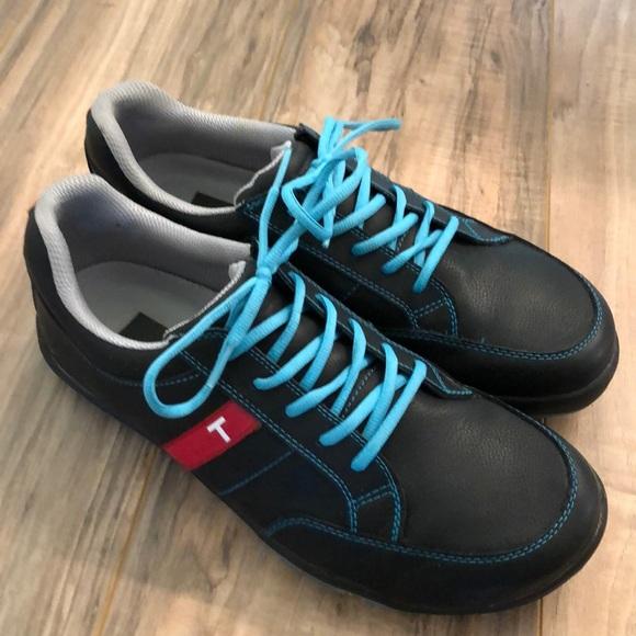 True Linkswear Other - True Linkswear golf shoes Black/Tourquoise